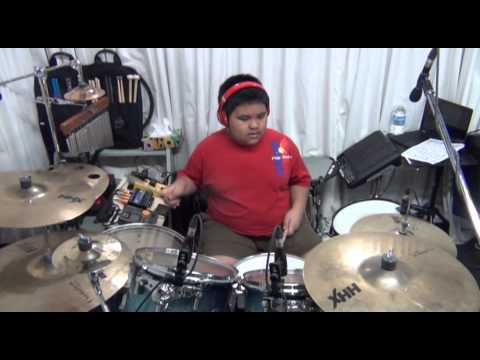 Faithful by Victory Worship - drum cover by Anjelo Gana (11 years old)