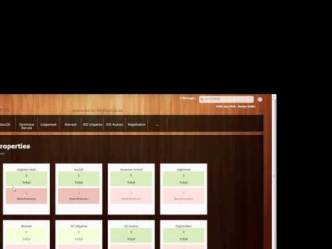 Homepage Attorney Interface ABSA