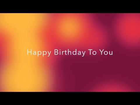 Happy Birthday Arabic Version