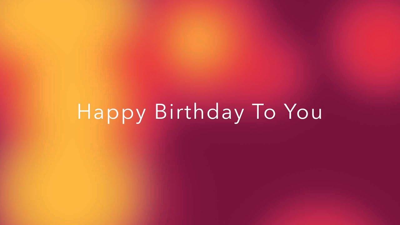 Happy Birthday Arabic Version Youtube