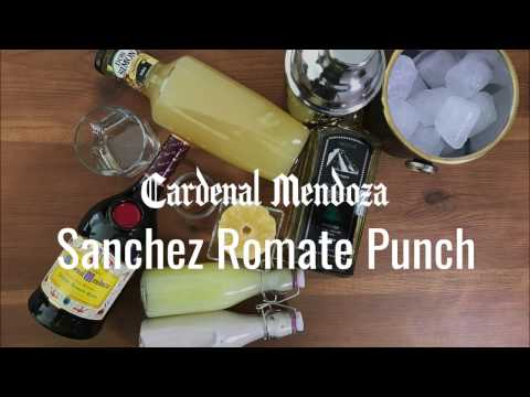 Sanchez Romate Punch With Cardenal Mendoza By Natalie Jacob