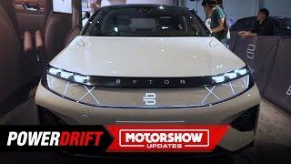 Byton M Byte & K Byte : As elegant as EVs can get : 2018 LA Auto Show : PowerDrift