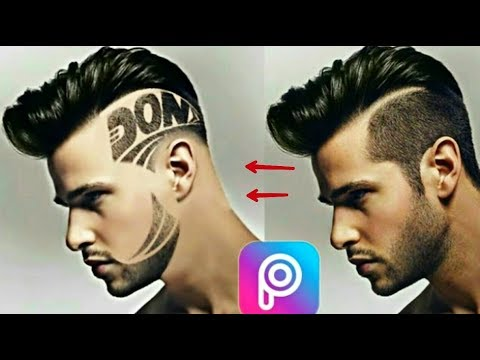 Stylish Hair Edit On Picsart 2018 New Trick Hair Editing Boys