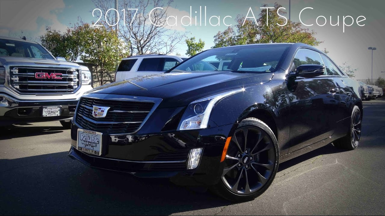 2017 Cadillac Ats Coupe 2 0 L Turbcharged 4 Cylinder Road Test