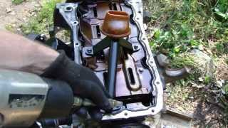 How to replace Ford Zetec engine oil sump