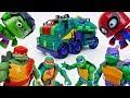 The Avengers Gone Mad~! Ninja Turtles, Wake Them Up - ToyMart TV