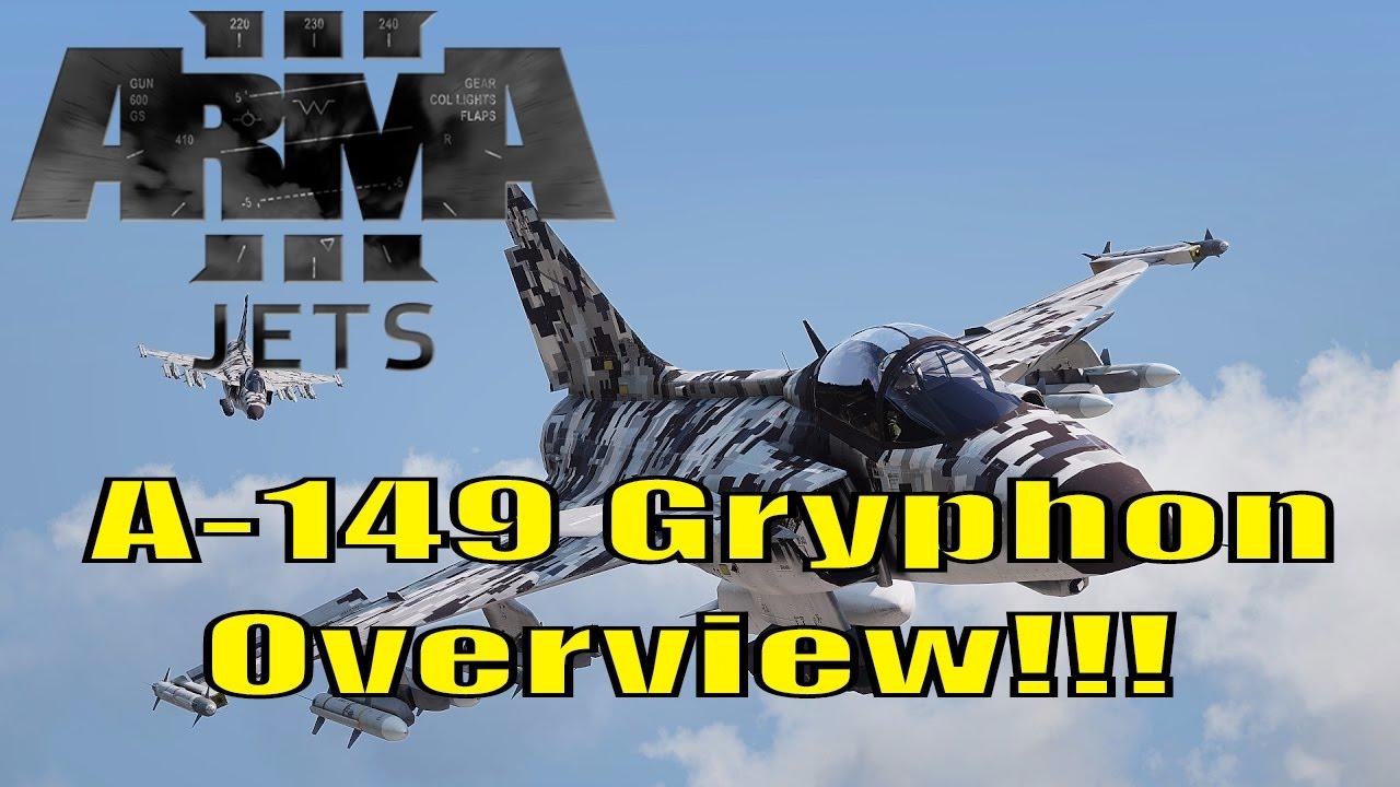 Arma 3   A-149 Gryphon First Flight! (Jets DLC)