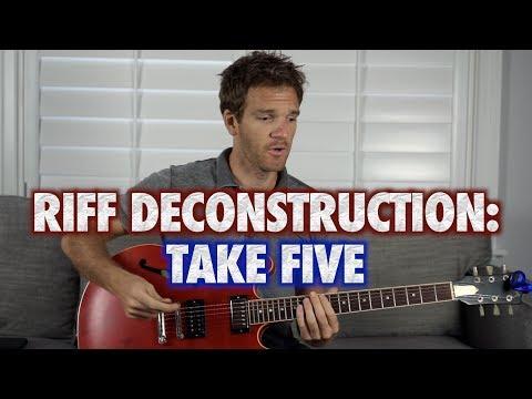 Riff Deconstruction: Take Five - Dave Brubeck