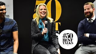 Beckaly Franks of The Pontiac bar Hong Kong at #50BestTalks
