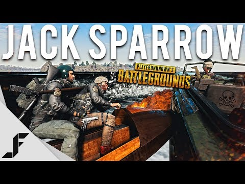 JACK SPARROW - Playerunknown's Battlegrounds PUBG