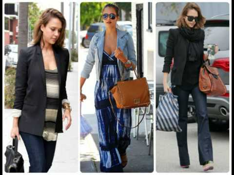 Pregnant Celebrity Maternity Fashion Youtube