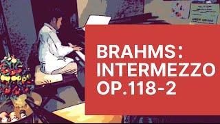 ブラームス:間奏曲 Op.118-2  /Brahms:Intermezzo A-dur,Op.118 No.2/ Pf.桐榮哲也  Toei,Tetsuya