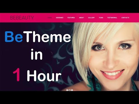 BeTheme Wordpress Complete Tutorial