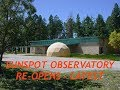 Sunspot Observatory, Plot Thickens, Hiker Found Dead, White Sands Trail