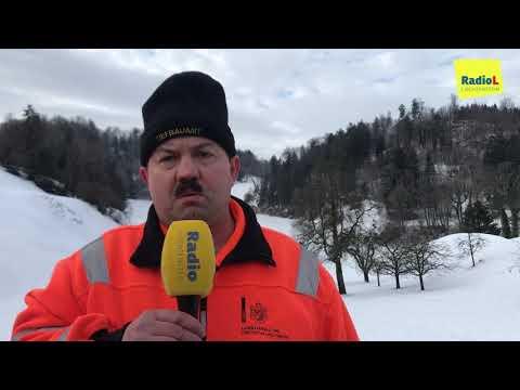 Schneeschaufeln in Liechtenstein