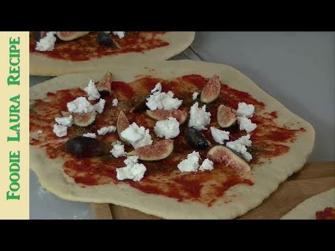 Fig & Goat Cheese Pizza Recipe
