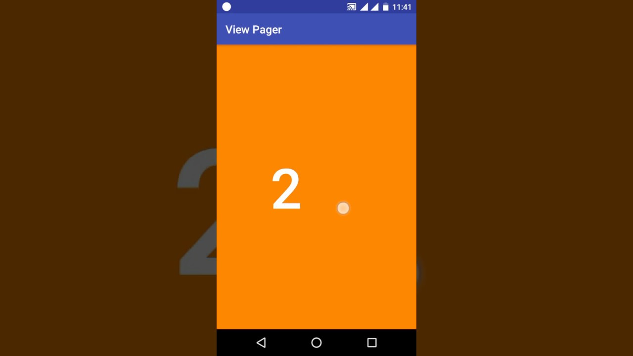 Viewpager example in android | Android Tablayout Example With