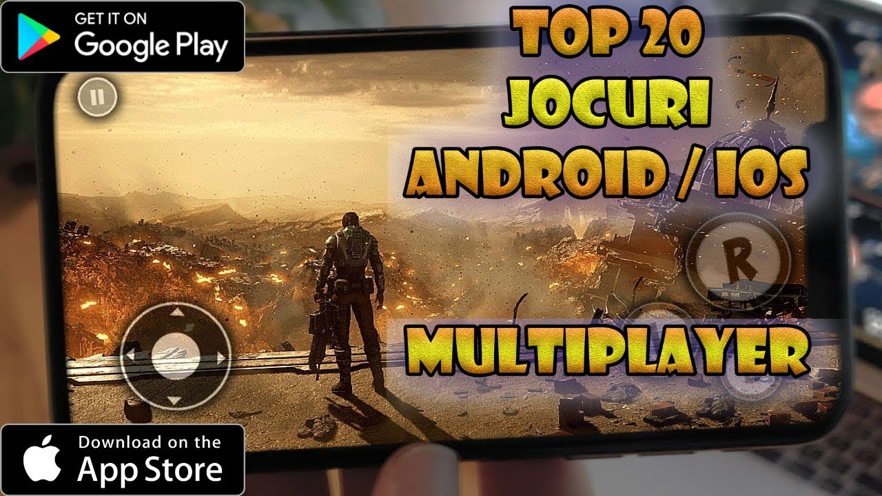 TOP 20 Jocuri ANDROID & IOS multiplayer 2020 | Jocuri pe Telefon