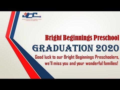Bright Beginnings Preschool Graduation 2020