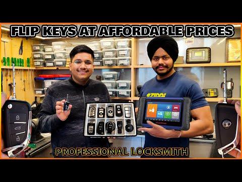 *Imported Rare* BMW Style Flip Key For My TIAGO | Car Key Programming | Smart Car Key