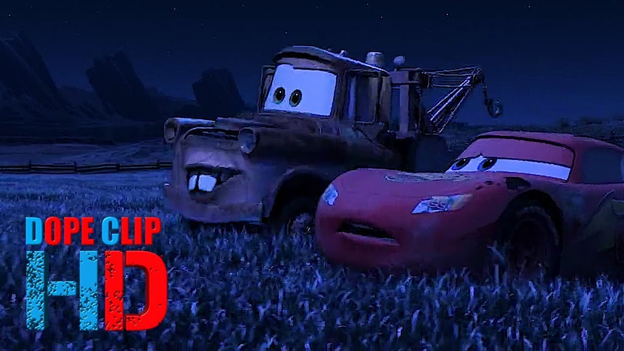 Cars 2006 Tractor Tipping (4/8) DopeClips - YouTube
