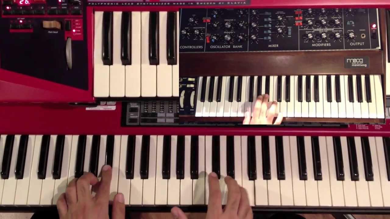 Spring yard zone funk chords keyboard piano tutorial youtube hexwebz Gallery