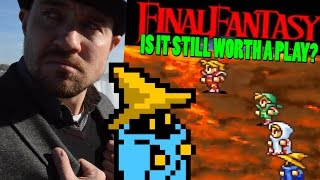 Is the Original Final Fantasy Worth Playing Today? - Dawn of Souls Review - Top Hat Gaming Man