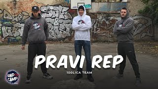 100lica Team - PRAVI RAP (Official Music Video)