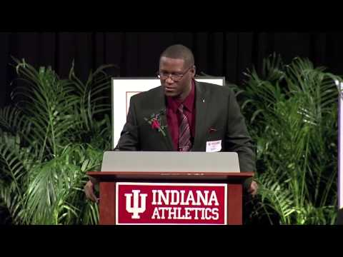 2014 Indiana Athletics Hall of Fame: A.J. Guyton