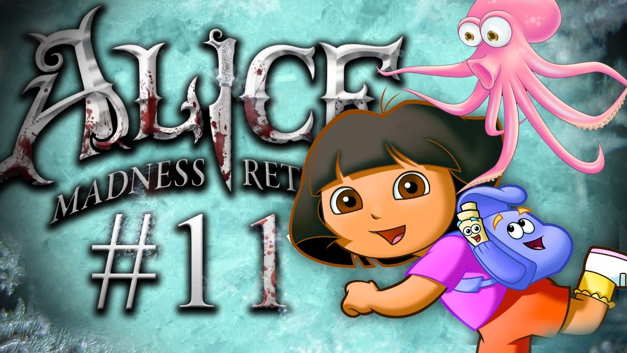 Pewdiepie plays Alice: The Madness Returns - Part 11