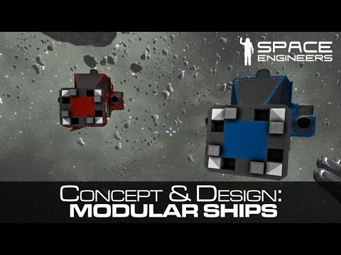 Space Engineers - A Modular Ship - Concept, Design & Use