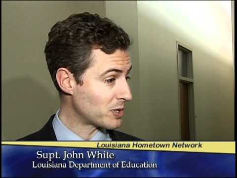 John White named Louisiana Superintendent of Education