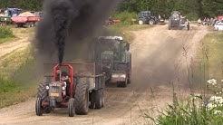 Traktorit vedossa Rantasalmi 2017