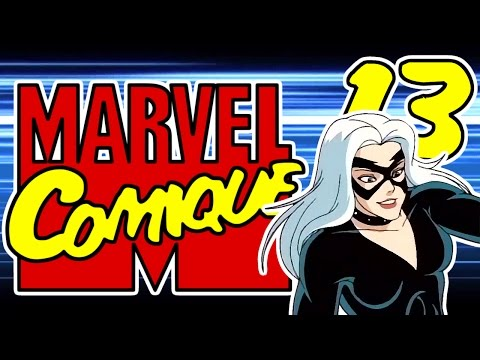 [Parodie] Marvel Comique #13 - La Chatte Noire sur un toît brûlant