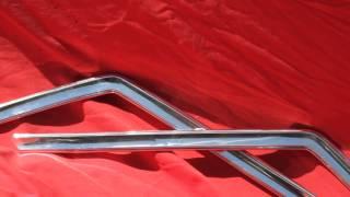 1964 1965 1966 1967 GTO Post Sedan Trim Straightening & Polishing