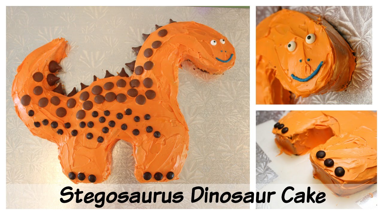 Birthday Party Ideas Easy Stegosaurus Dinosaur Birthday