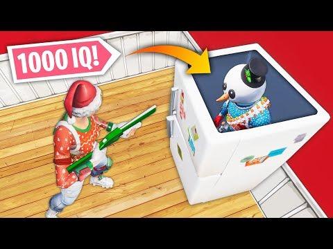1000 IQ HIDING SPOT TRICK! | Fortnite Best Moments #95 (Fortnite Funny Fails & WTF Moments)