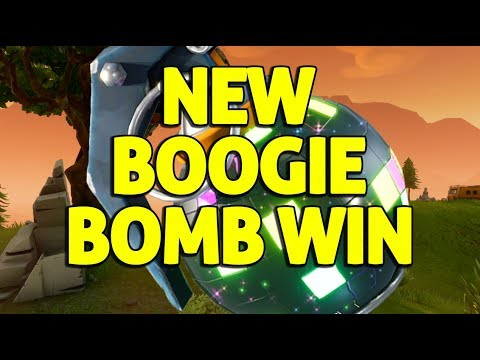 Boogie Bomb Win! - Fortnite Solo Gameplay - Ninja
