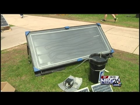 Students Compete in Solar Olympics at UWGB