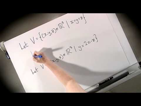 Intro to Vector Spaces