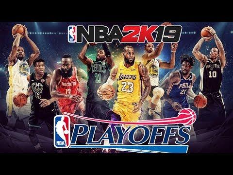 VE 2019 PLAYOFFLAR BAŞLIYOR | NBA 2K19 MyCareer Türkçe #30