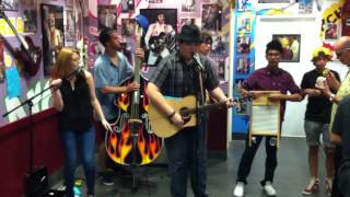 "Quinto and the Beans ""Jackson"" by Johnny Cash at Archie's Ice Cream in Tustin,Ca - 6/27/13 Thumbnail"
