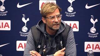 tottenham 4 1 liverpool jurgen klopp full post match press conference premier league