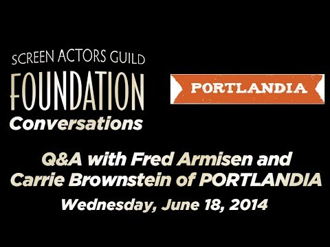 Conversations with Fred Armisen and Carrie Brownstein of PORTLANDIA