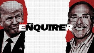 From youtube.com: Trump's SHOCKING affair with the National Enquirer. {MID-334471}