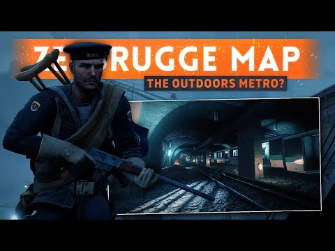 ➤ ZEEBRUGGE MAP IS THE OUTDOORS METRO?! - Battlefield 1 Turning Tides DLC (North Sea Update)