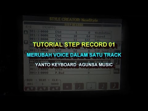 CARA MEMBUAT style creator STEP RECORDING PART 1 (MULTI VOIC