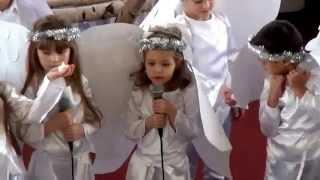 "Звездочки ярко сияли (Рождественские песни)  ЕХБ ""Благовещение""  исполняет Евангелинка."