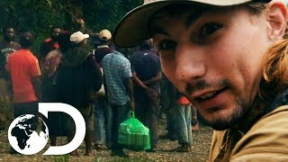 Angry Papuan Crowd Put Parker's Crew In Severe Danger | Gold Rush: Parker's Trail