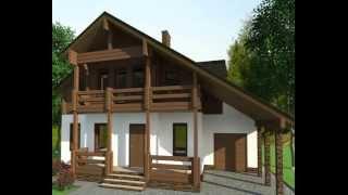 Проекты деревянных домов.Строительство коттеджа Полет.МОГУТА(Идеальное сочетание цены, комфорта и качества. Каменный первый этаж, где расположены все основные помещени..., 2014-05-11T05:46:59.000Z)